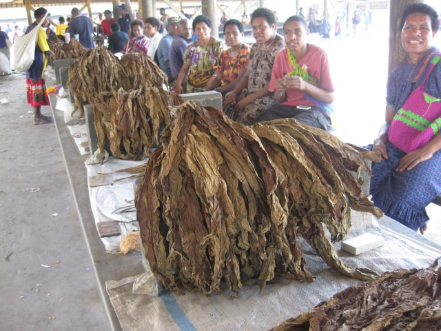 Tobacco sale