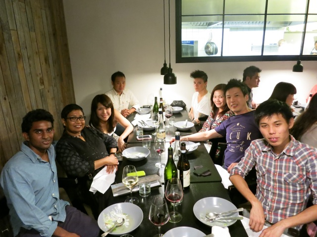 chefs at dinner